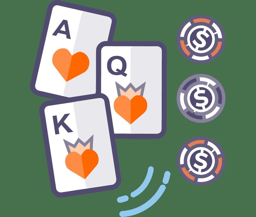 25 principais Online Pôquer de três cartas sites de cassino no Portugal